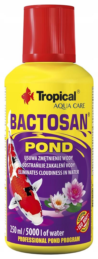 BACTOSAN POUND удаляет водяное помутнение 250ml Tropica