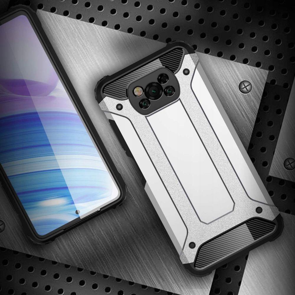 Etui Xarmor do Xiaomi Poco M3 Czarny + szkło EAN 6216990208737