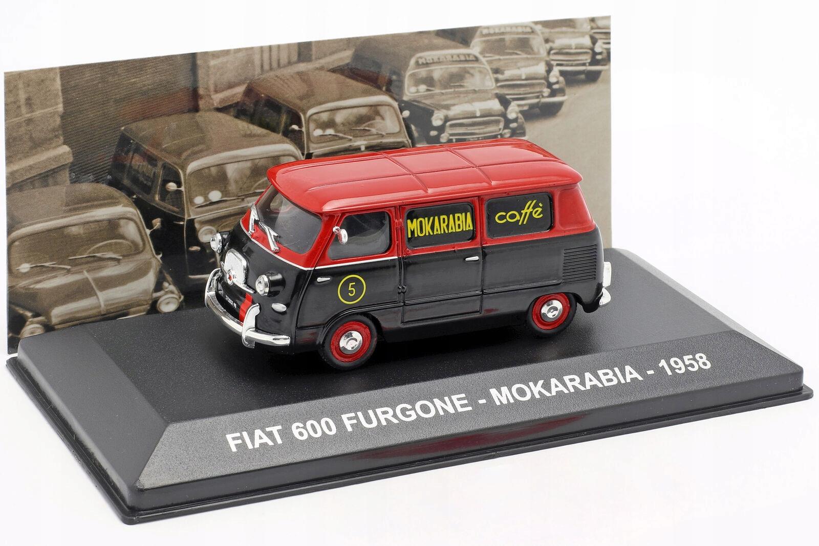 АЛТАЯ - FIAT 600 FURGON - МОКАРАБИЯ 1958 1:43