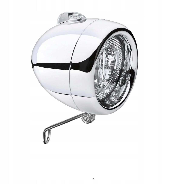 Predná chrómovaná žiarovka Electra Retro