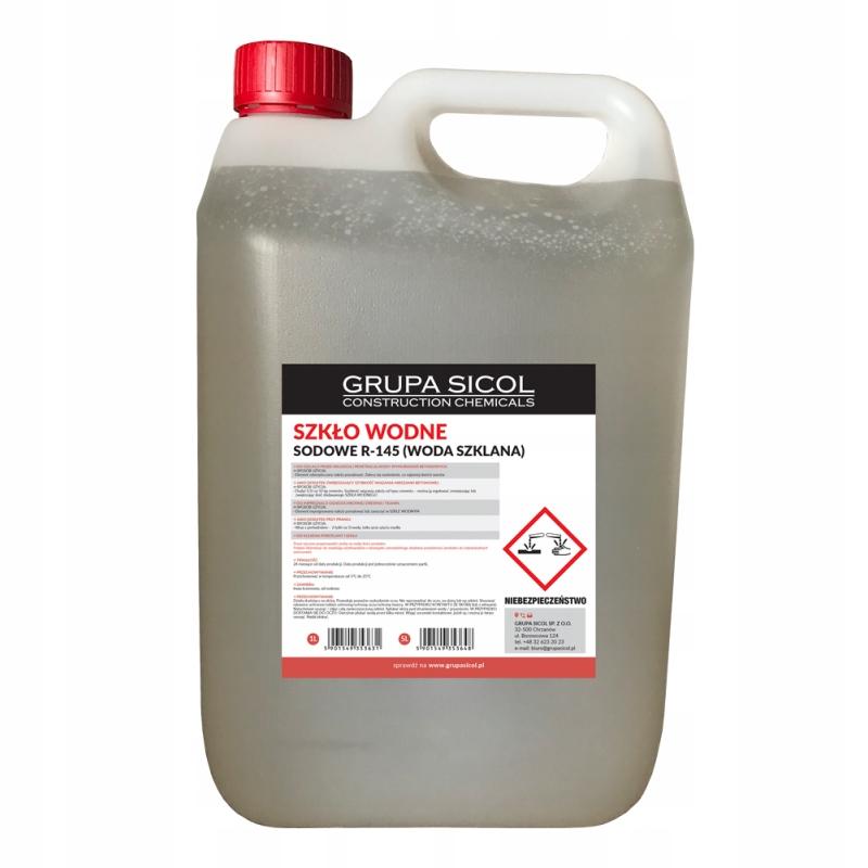 SZKŁO WODNE sodowe R-145 (woda szklana) 5L