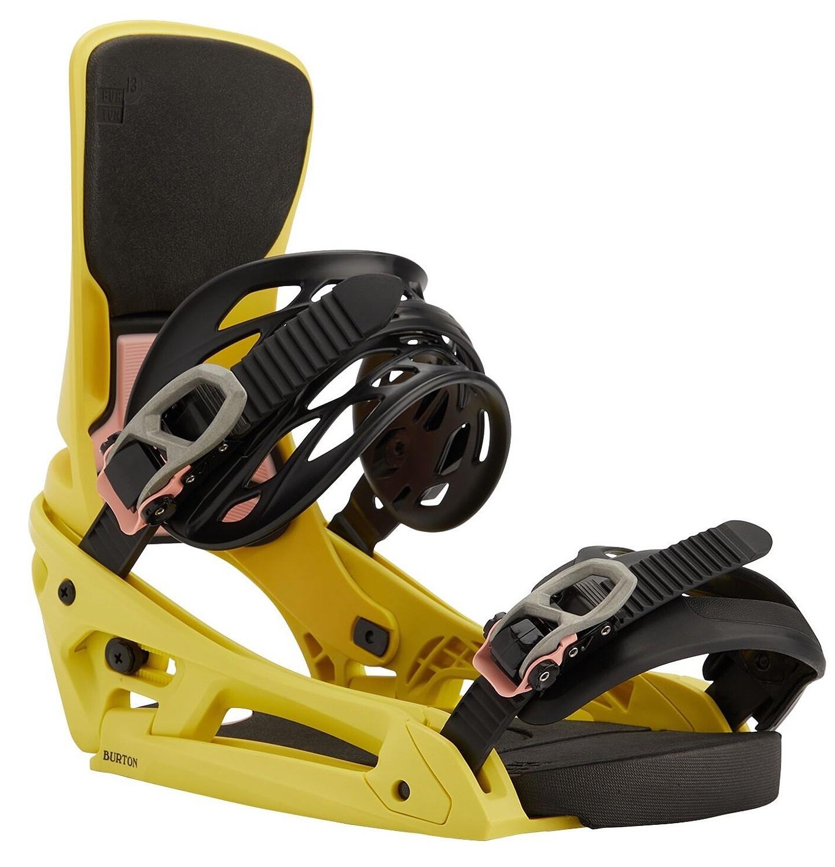 wiązanie Burton Cartel X EST - Yellow