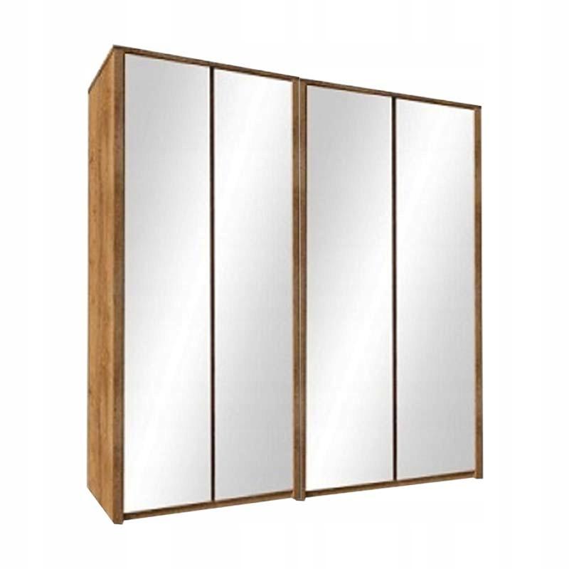Шкаф двойной с зеркалом, 226 см MAXIM DOUBLE