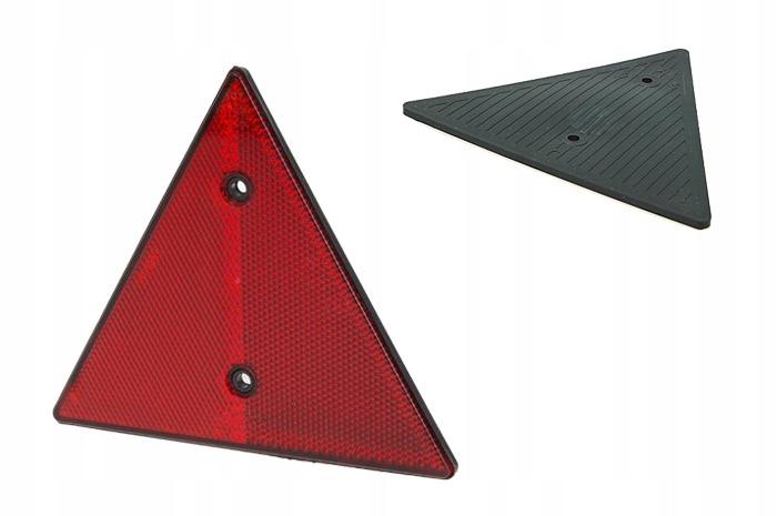 треугольник светоотражающий прицеп пакли dob-031