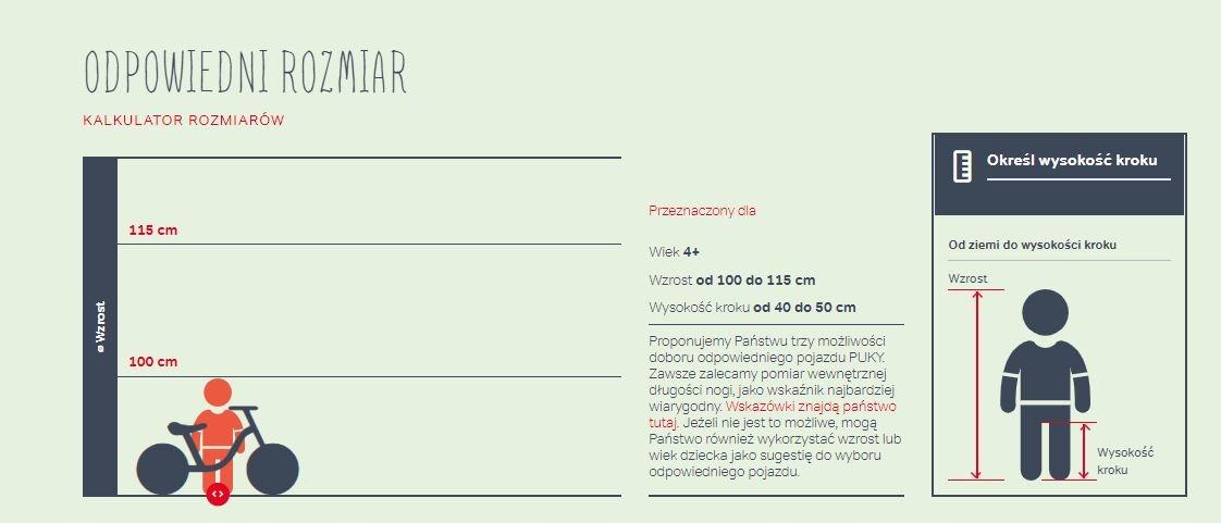Lekki Rower PUKY LS-PRO 16-1 Alu Waga 5,90 kg 4415 Amortyzacja brak