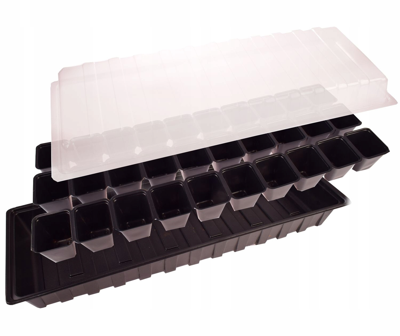 Мини-теплица Inspekt Seedling для черного подоконника