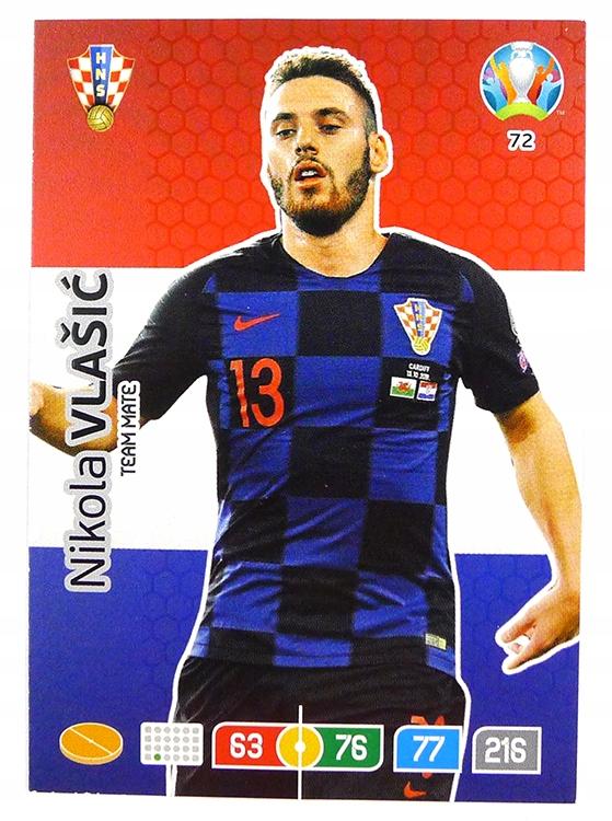 Купить Карточка PANINI UEFA EURO 2020 CRO 72 Vlaisić на Otpravka - цены и фото - доставка из Польши и стран Европы в Украину.