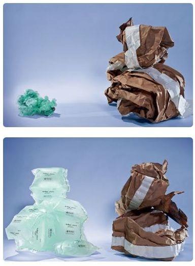Maty powietrzne do paczek kartonów Multi Rodzaj folia bąbelkowa poduszki powietrzne wypełniacz ekologiczny