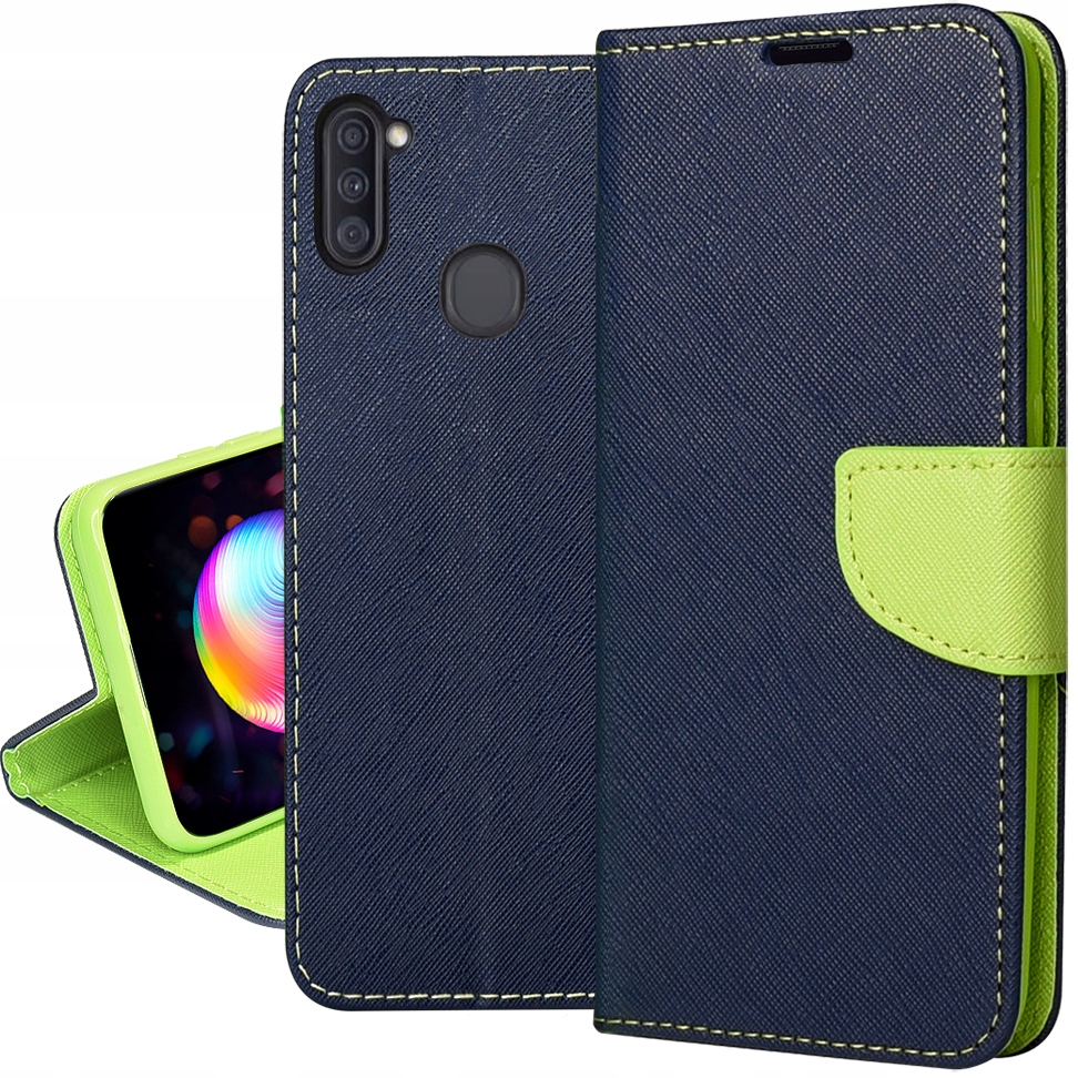 Etui do Samsung Galaxy M11 Fancy Case + SZKŁO 9H