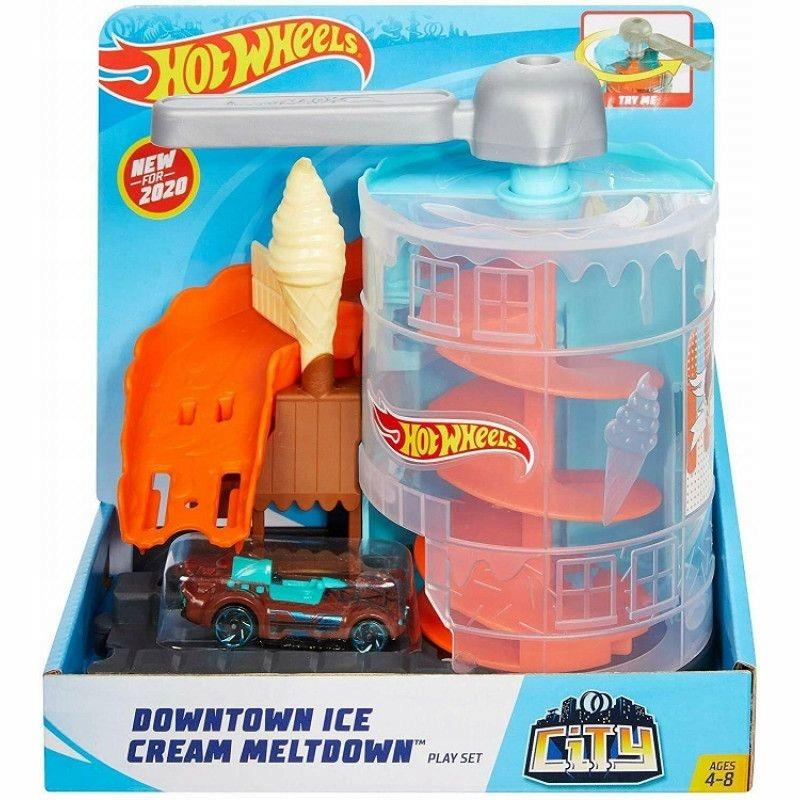 Mattel HW City Twisted Ice Cream Salon FRH28 GPD08