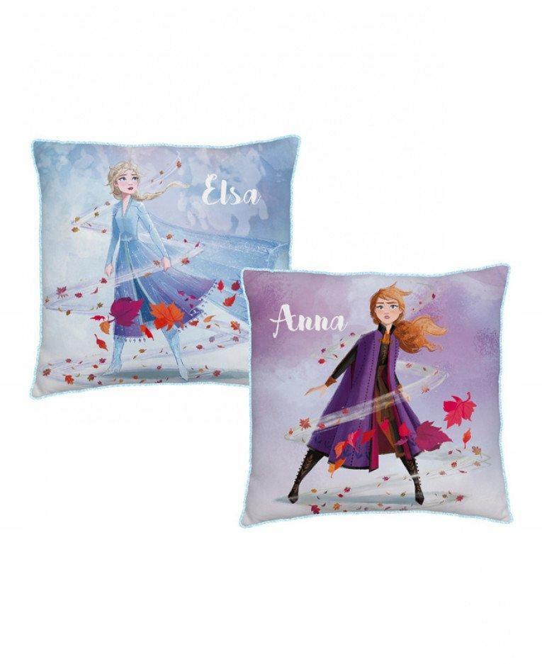 Vankúš Jasiek 40x40 Frozen Elsa Anna Frozen