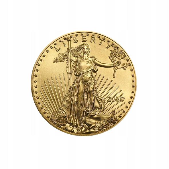 Zlatá Monet Liberty 2020 - 1/2 oz