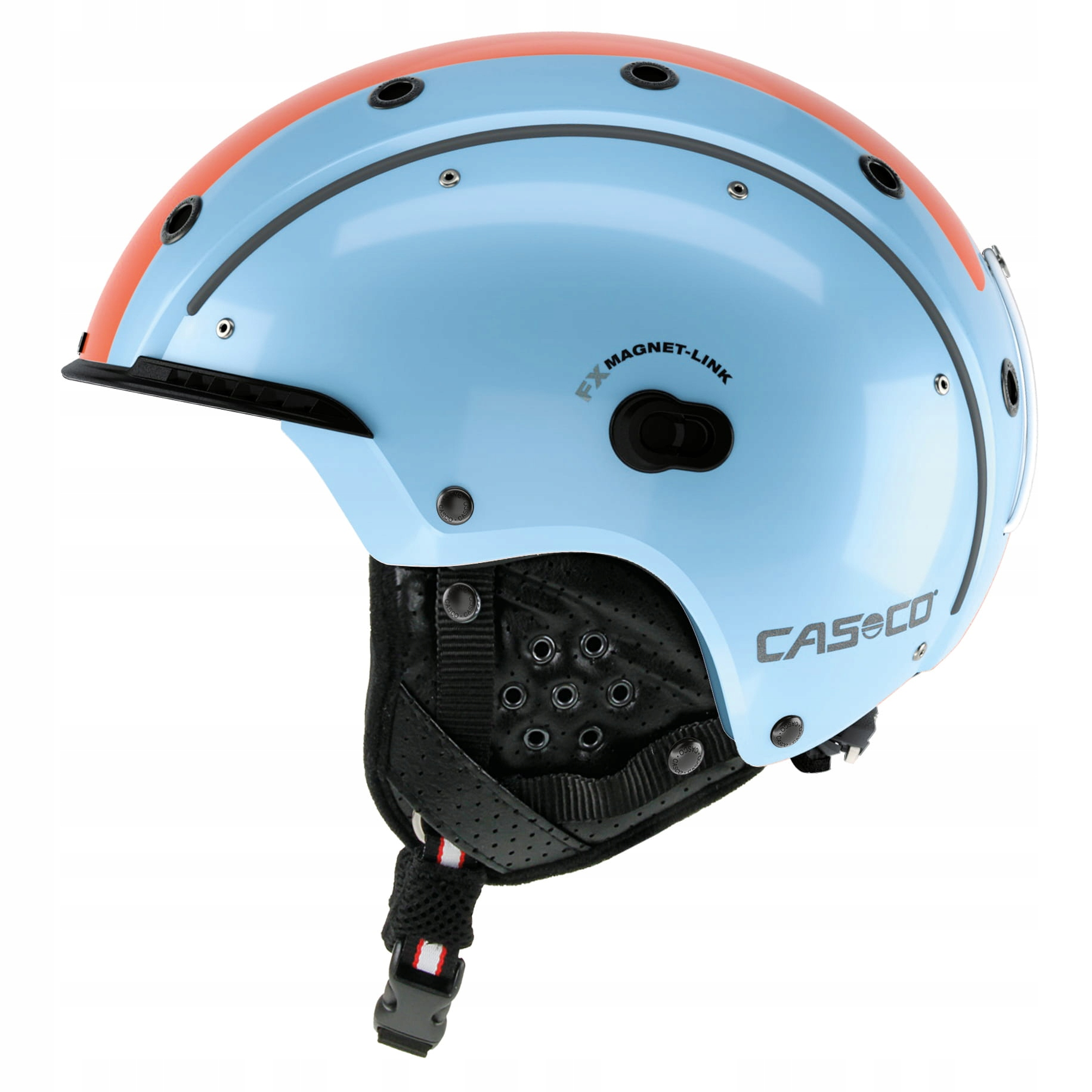 Lyžiarska prilba SP-3 COMP BLUE RETRO L CASCO