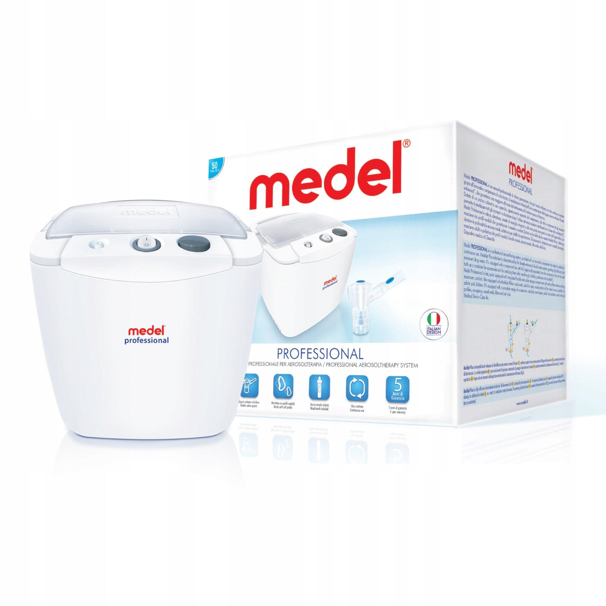 Inhalator nebulizator do zatok Medel Professional