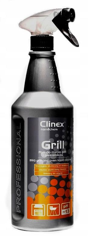 CLINEX Grill 1L, Skutecznie myje piekarnik i grill