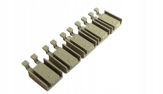 H0 - Atrapy napędów zwrotnic 5 sztuk skala 1:87