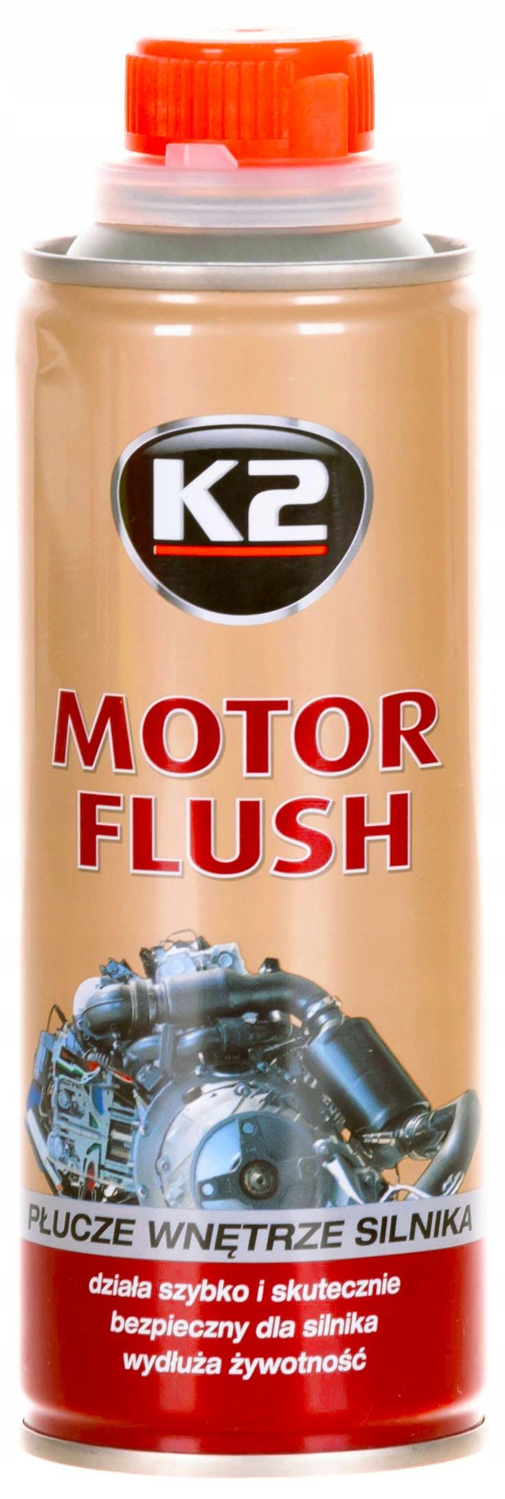 K2 T371 MOTOR FLUSH PŁUKANKA SILNIKA 250 ML