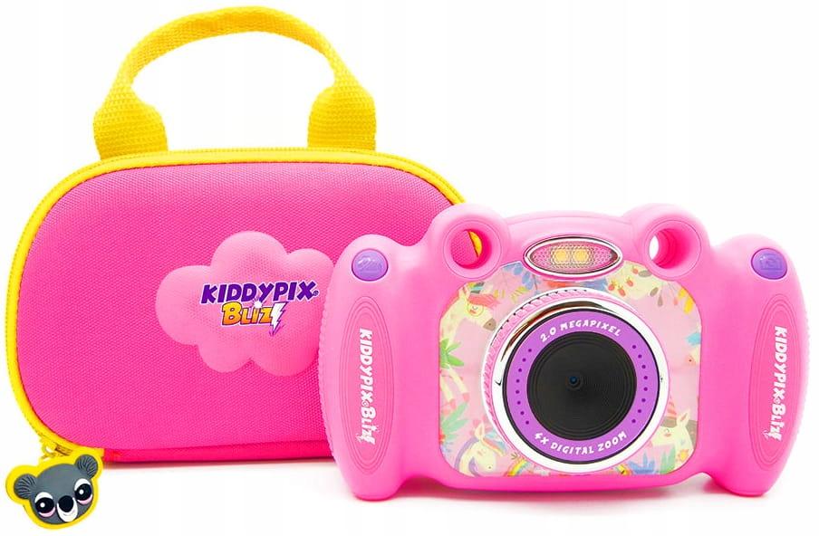 Item Kiddypix Pink Digital Camera For Kids Games Case