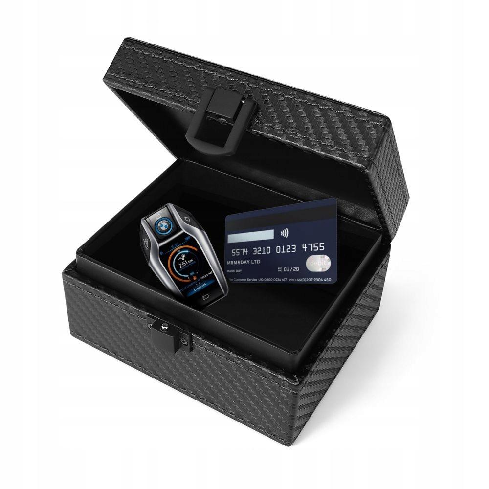 Pudełko Blokujące Sygnał RFID Carbon