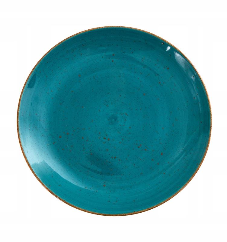 Talerz deserowy 19,5 cm Lubiana morski