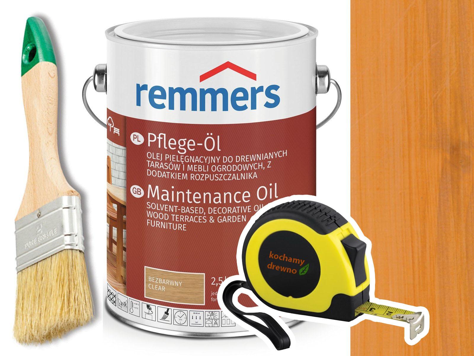 Реммерс Pflege-Ol нефти для LARCH TERRACES 5 L