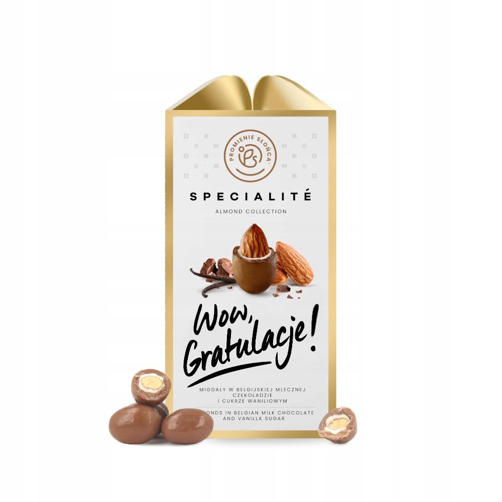 Вау, поздравляю! Миндаль в шоколаде 80г КАЧЕСТВО
