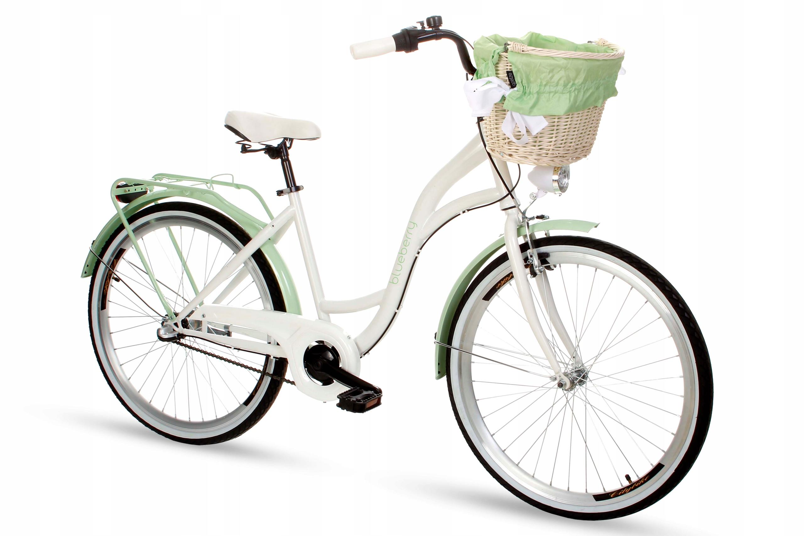 Dámsky mestský bicykel Goetze BLUEBERRY 26 3b košík!  Váha 15 kg
