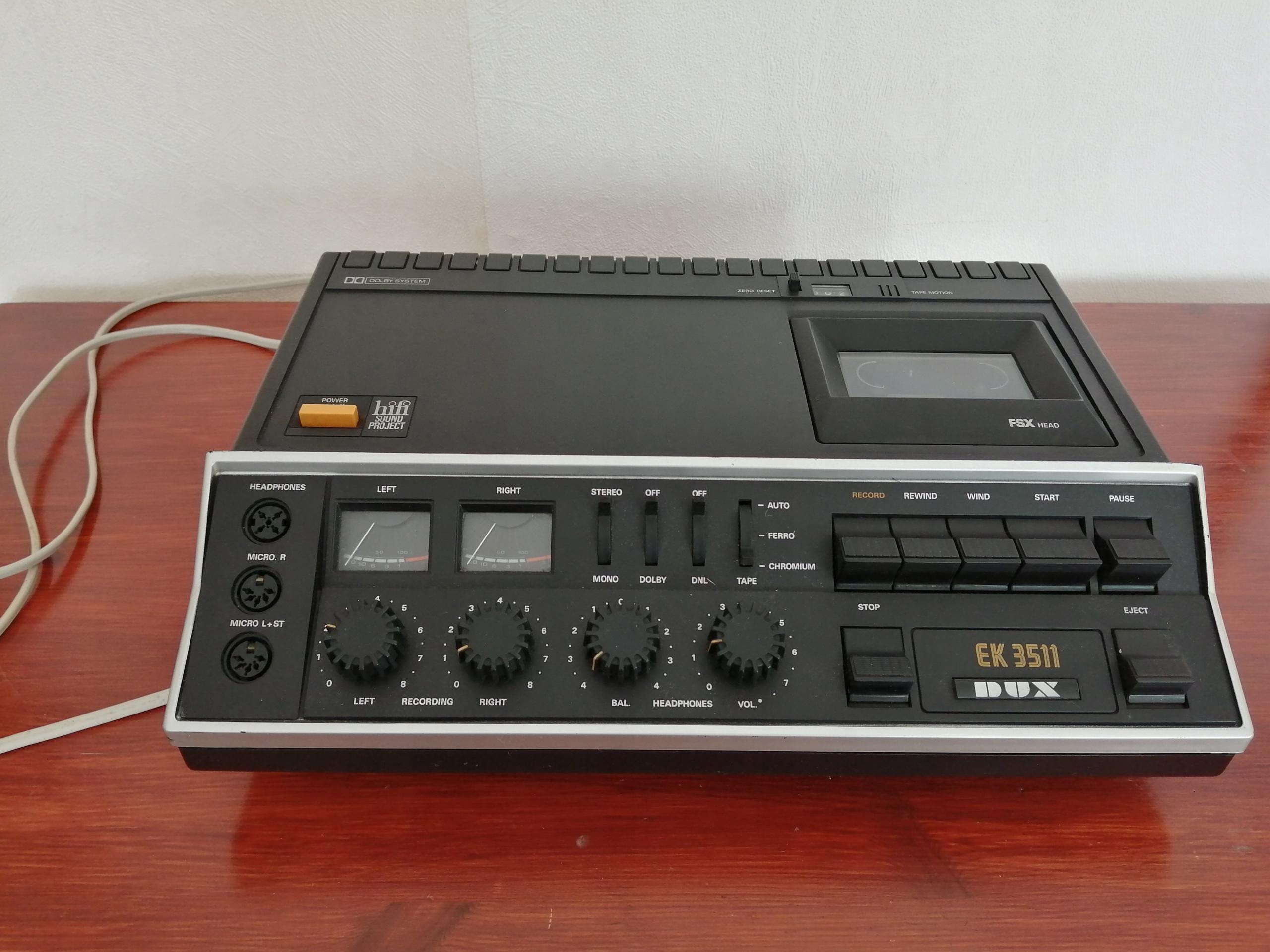 DUX EK 3511 Hi-Fi магнитофон