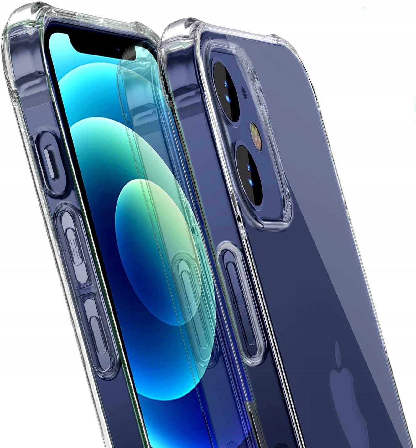 Etui do iPhone 12 ANTI-SHOCK Case + Szkło
