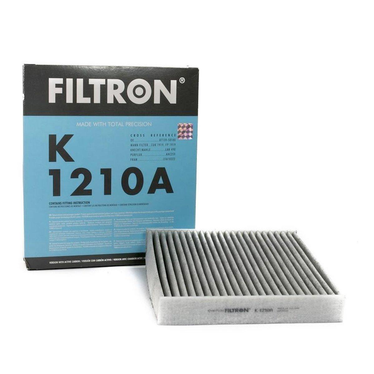 filtron фильтр кабины угольный k 1210a