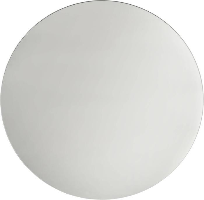 Зеркало 80 см, круглое, безрамное настенное