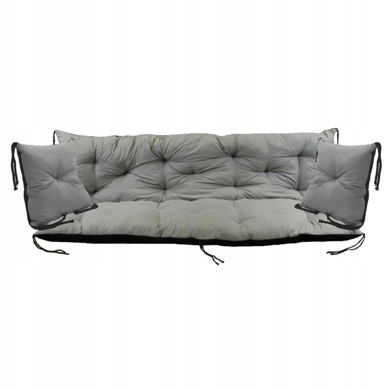 Подушка для качелей 100x60x50 см + 2x40x40
