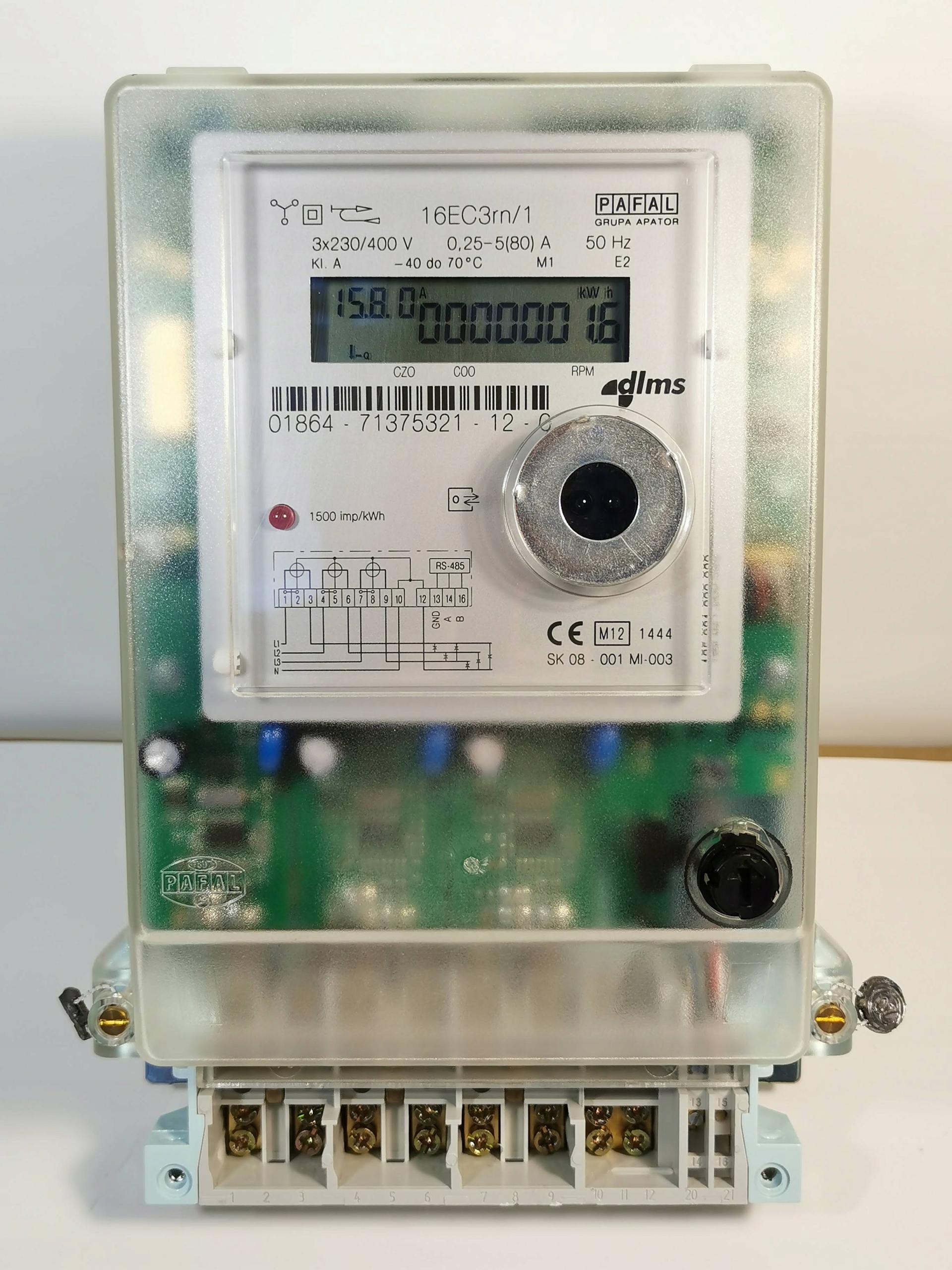 Licznik Pradu Energii Elektrycznej 3f 5 80a 6299729554 Allegro Pl