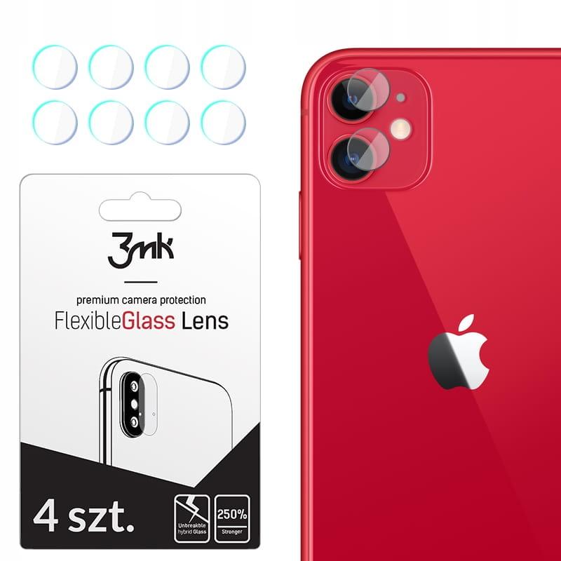 Niepękające szkła hybrydowe obiektyw 3mk -iPhone11