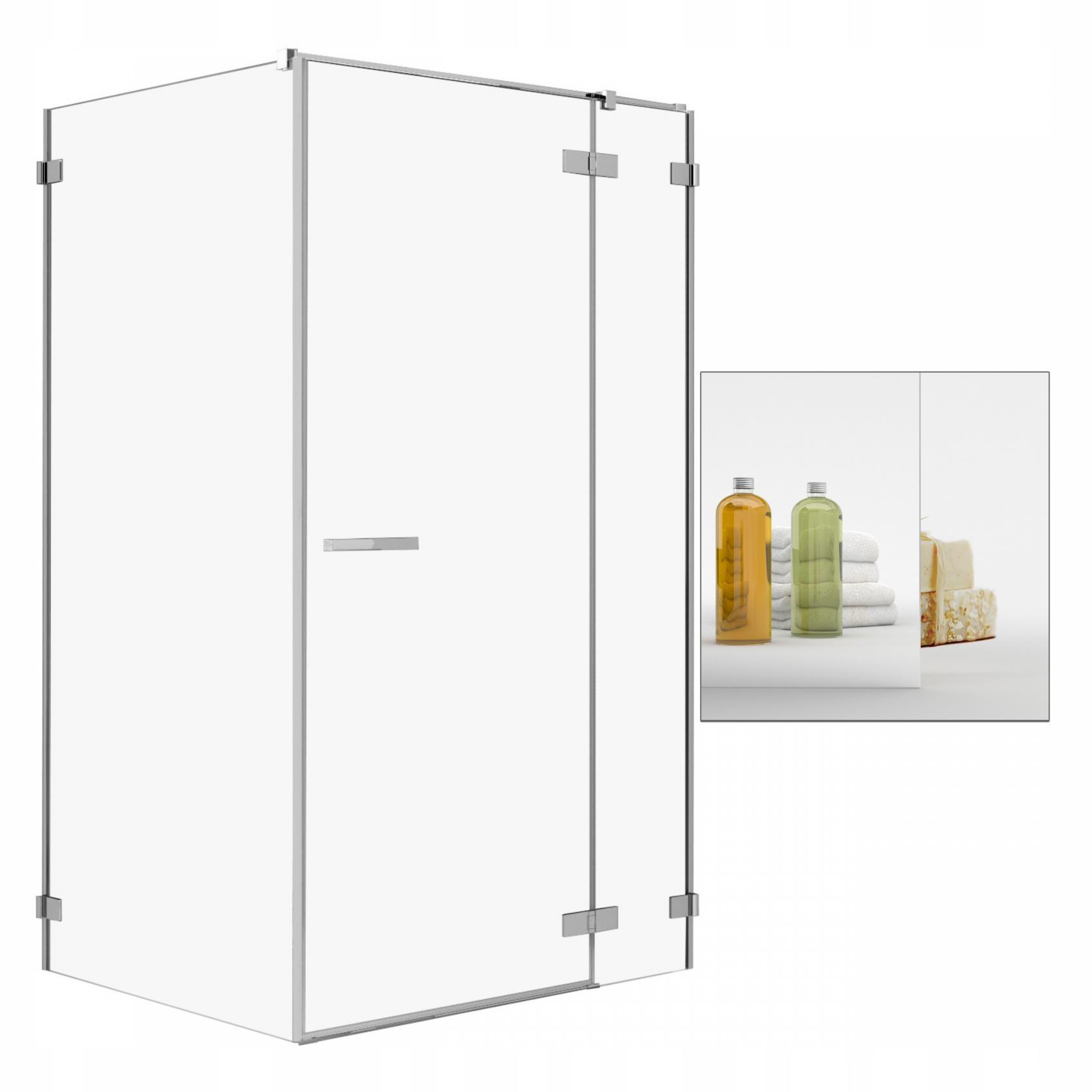 Sprcha Umenie KDJ II 140x120 P zrkadlo