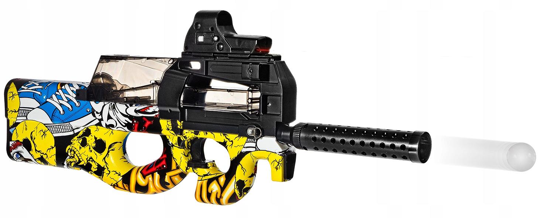 _ P90 Puška GUN GEL GALLS_