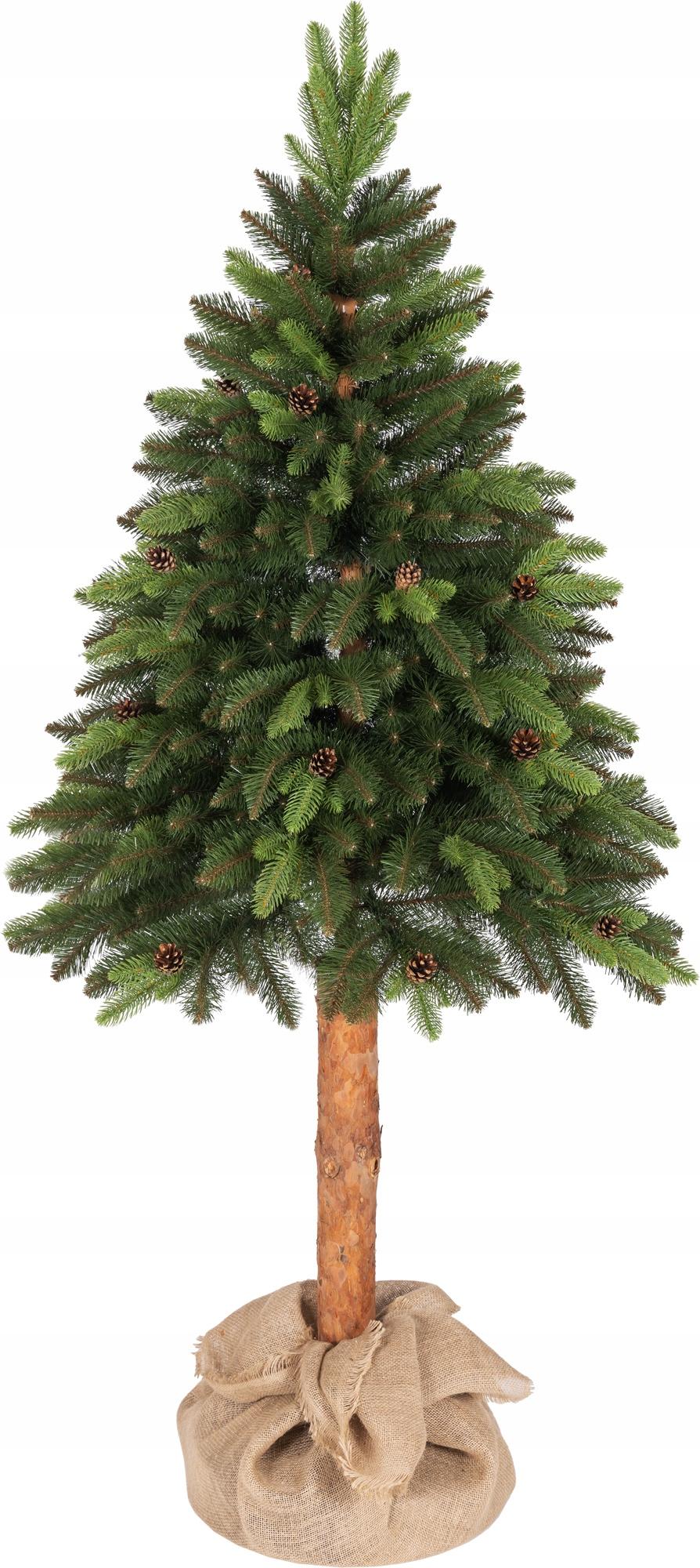 Umelý vianočný stromček Taliansky smrek na kmeni 220 cm