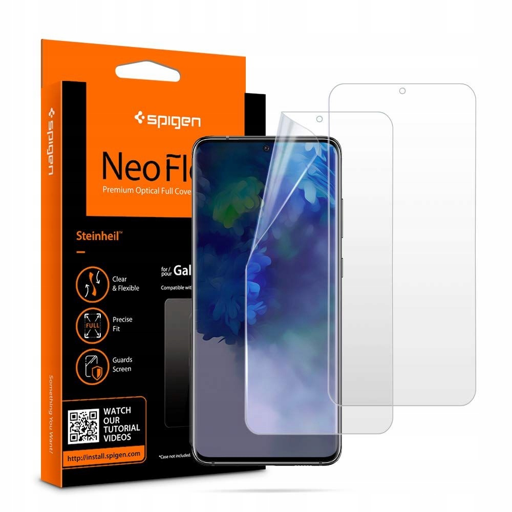 Spigen Neo Flex Hd 2 x Folia do Galaxy S20+ Plus