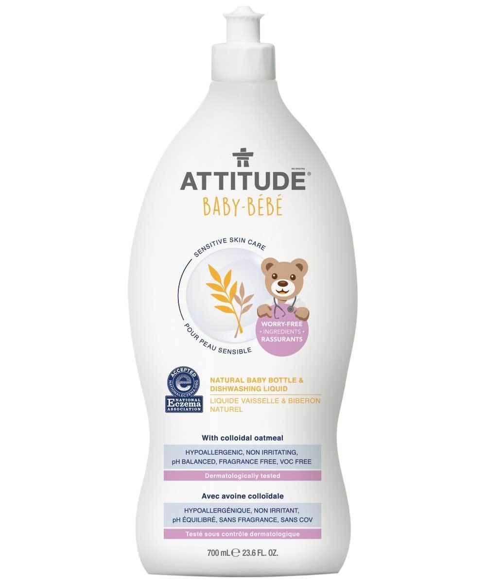 Attitude Naturalny płyn do mycia butelek i naczyń