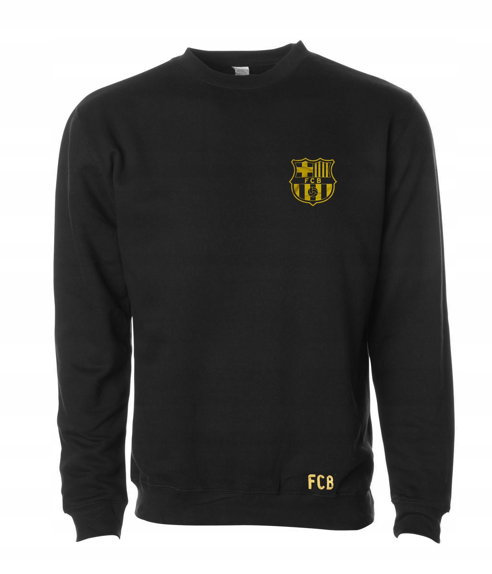 FC Barcelona, bluza, super jakość,złoty nadruk, L