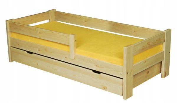 70X160 posteľ pre dieťa, matrace, box, borovica