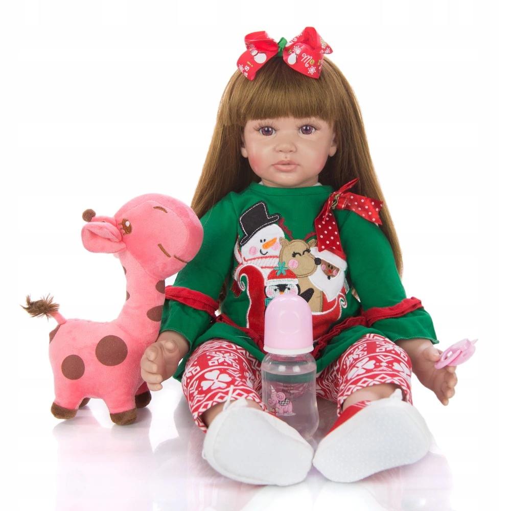 Nová krásna veľká bábika KEIUMI 60 cm Reborn H. PL