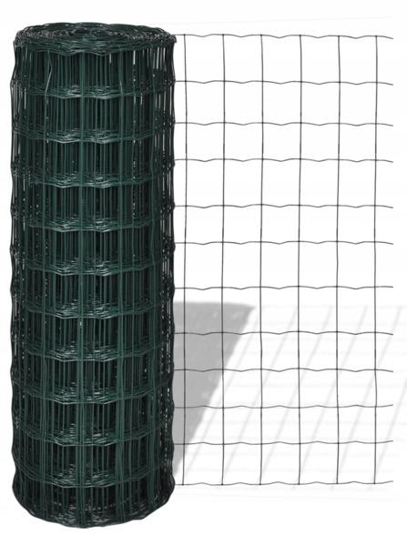 Siatka Euro Fence 150cm/25m Waga produktu z opakowaniem jednostkowym 15 kg
