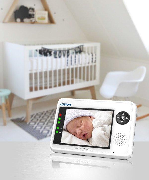 Бебешки монитор LUVION Essential Plus 3,5 '' Различен цвят