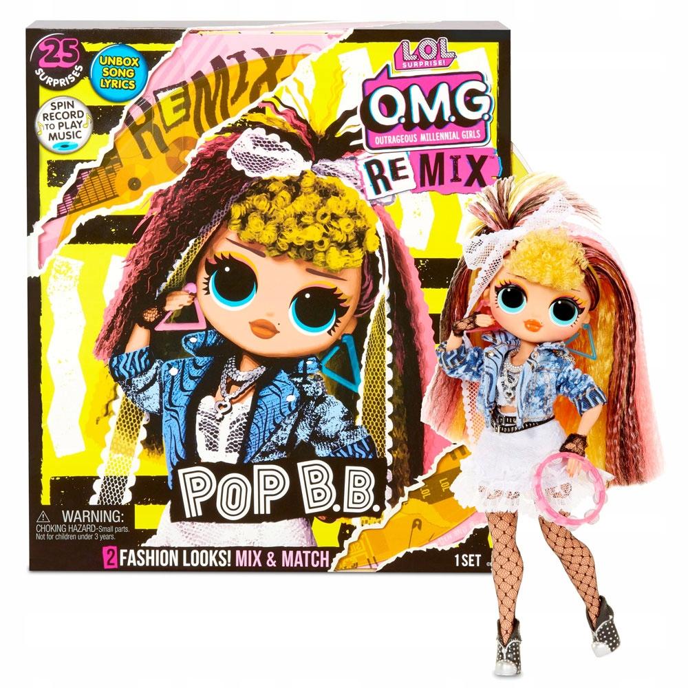 LOL SURPRISE Doll OMG REMIX POP B.B. + OTOČNÝ
