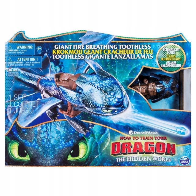 Ako vycvičiť draka s obrovským ohňom dýchajúcim drakom