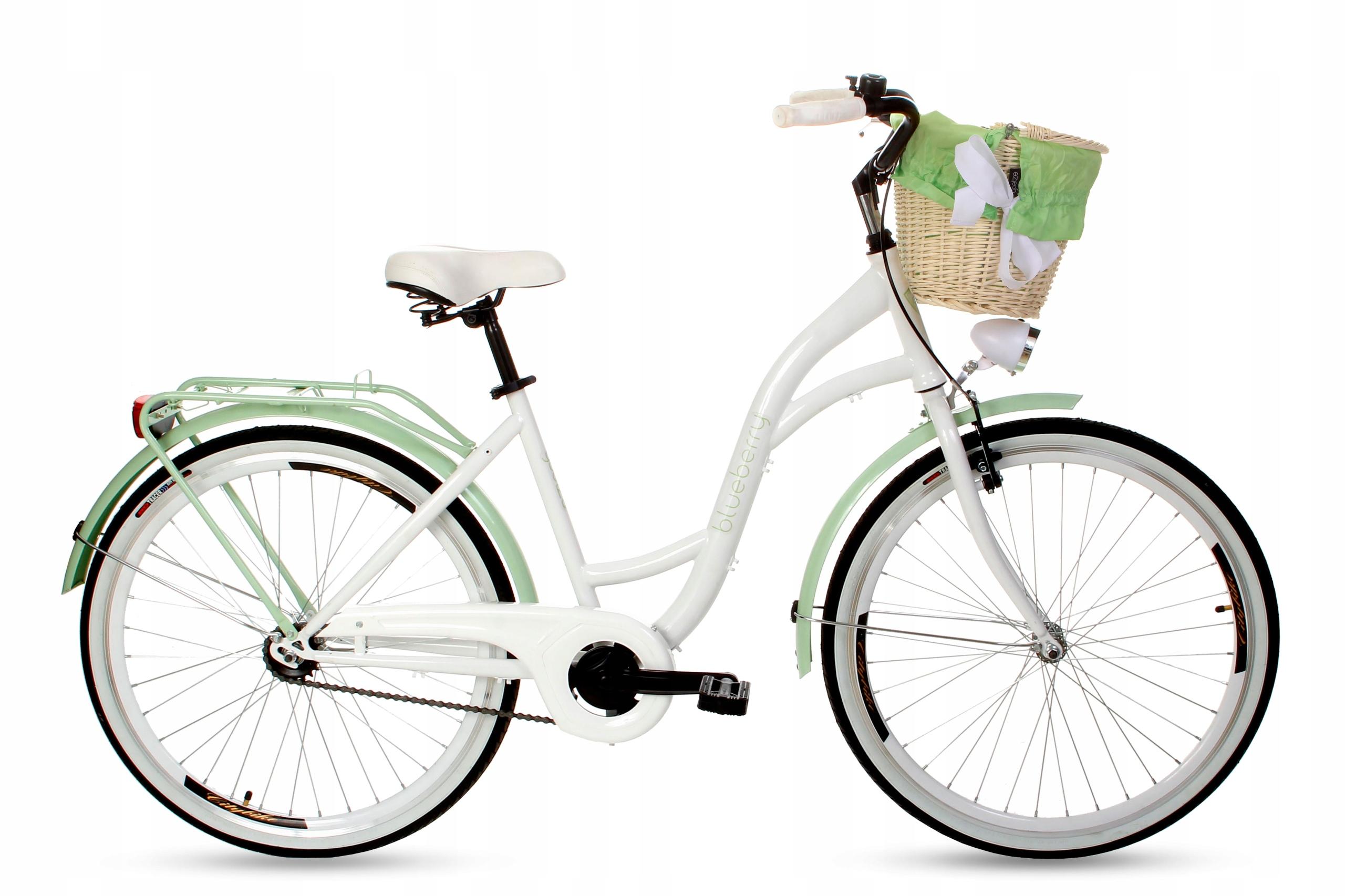 """Dámsky mestský bicykel Goetze BLUEBERRY 26 košík!  Veľkosť kolies ("""") 26"""