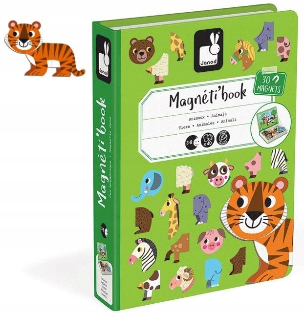 MAGNETICKÝ PLASTOVÝ JANOD zvieratá Magnetická kniha