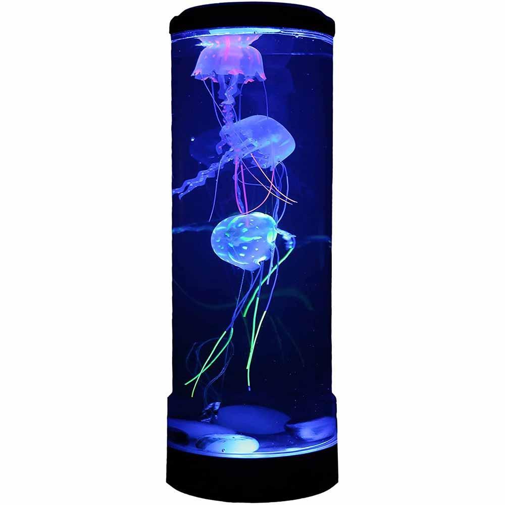 Lampa LED zmieniająca kolor symulacj meduzy lampka