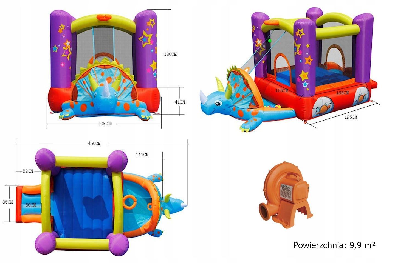 Nafukovacie ihrisko Happy Hop - Dino Bouncy